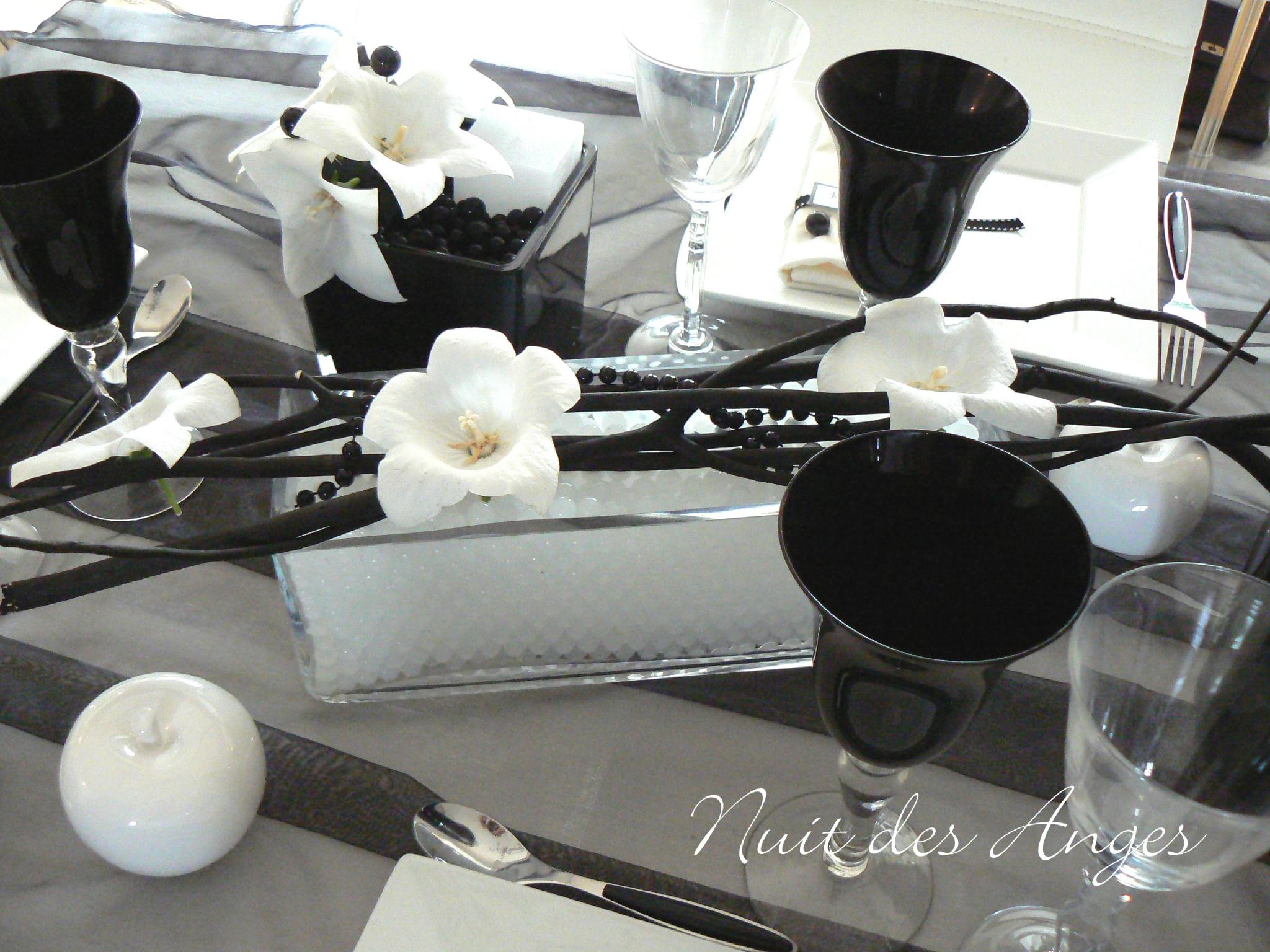 Deco De Mariage Pas Cher Noir Et Blanc Votre Heureux