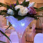 Decoration de centre de table pour mariage