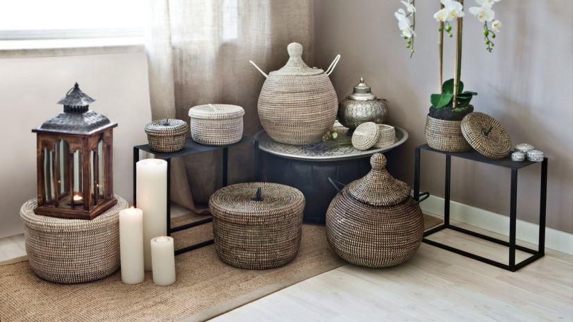 petite corbeille osier le mariage. Black Bedroom Furniture Sets. Home Design Ideas