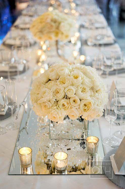 décoration centre de table mariage - le mariage