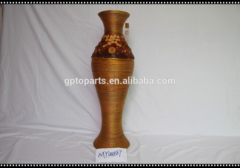 Grand vase en osier le mariage for Vase deco pas cher