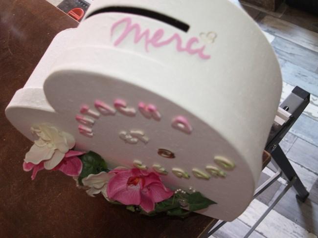 Deco urne coeur mariage le mariage for Decoration urne