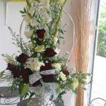 Corbeille fleurs pour mariage