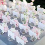 Deco mariage gris et rose