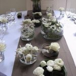 Deco centre table mariage