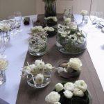 Deco centre table mariage