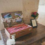 Valise mariage urne