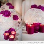 Decoration table de mariage pas cher
