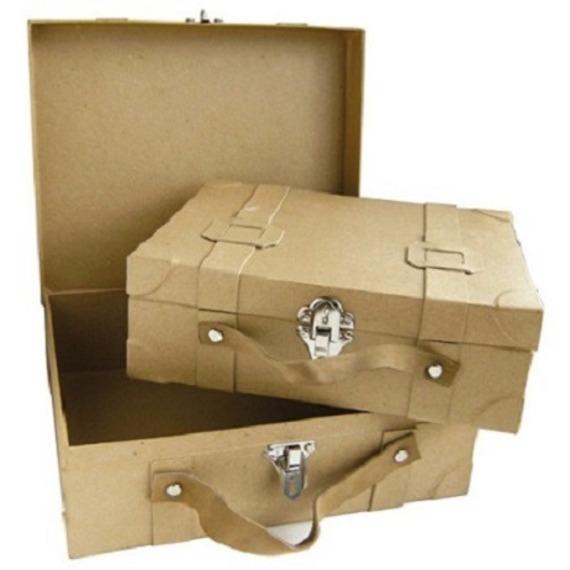 urne valise carton le mariage. Black Bedroom Furniture Sets. Home Design Ideas