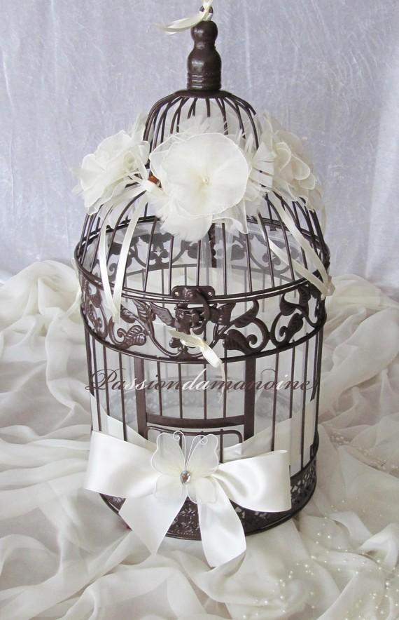 urne cage a oiseau mariage le mariage. Black Bedroom Furniture Sets. Home Design Ideas