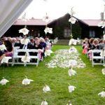 Decoration exterieur mariage