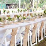 Deco table vintage mariage
