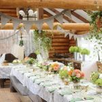 Deco table mariage champetre