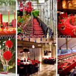 Deco mariage rouge