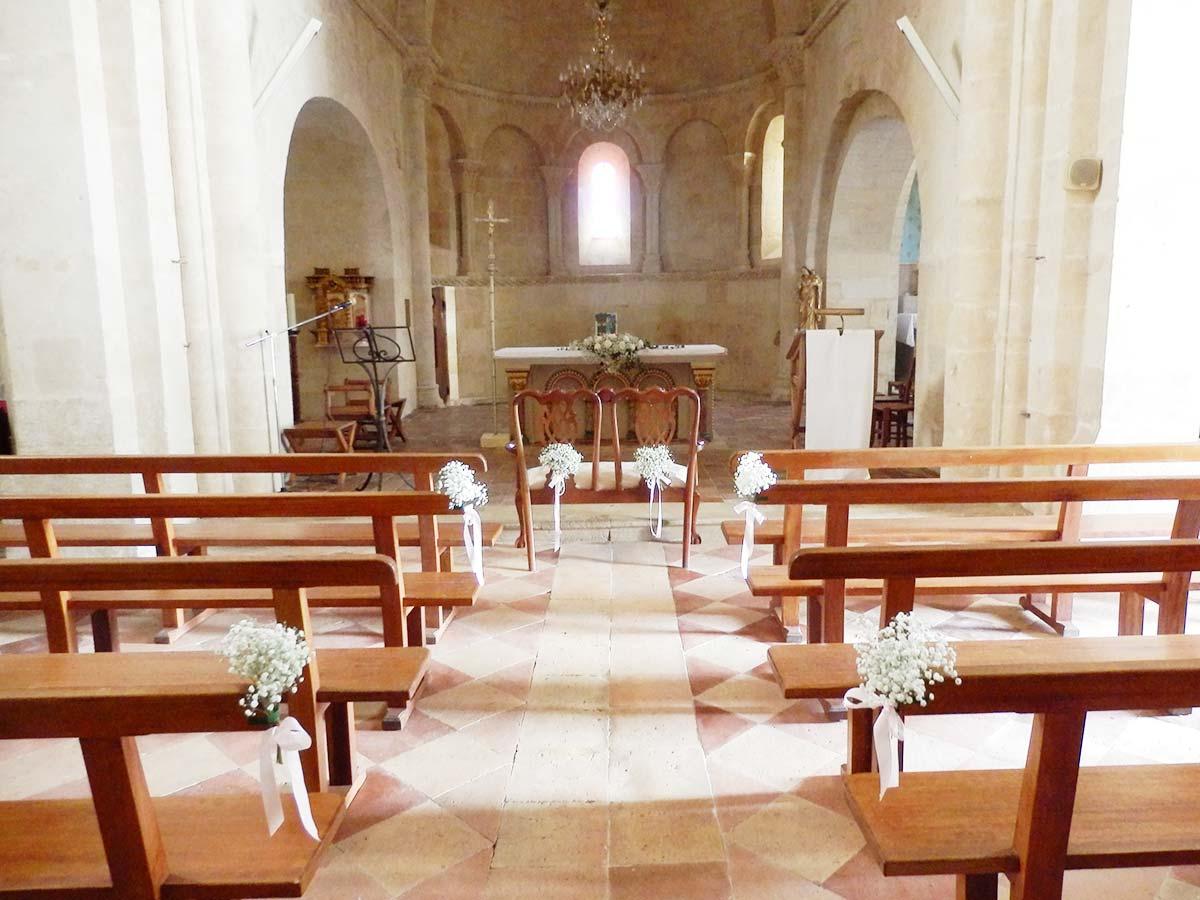 Deco mariage en ligne le mariage - Decoration eglise mariage ...