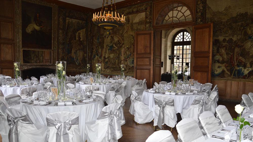 Decoration mariage chateau le mariage - Deco jardin pour mariage vitry sur seine ...