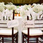 Decoration pour mariage chic
