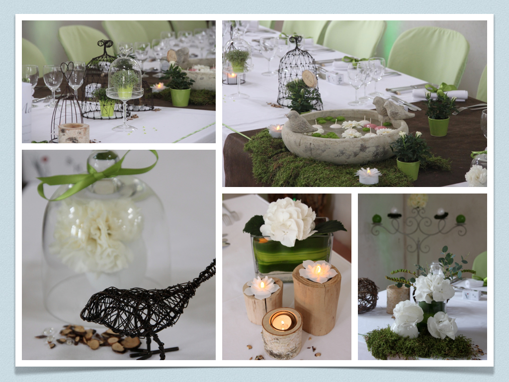 decoration table mariage nature le mariage. Black Bedroom Furniture Sets. Home Design Ideas