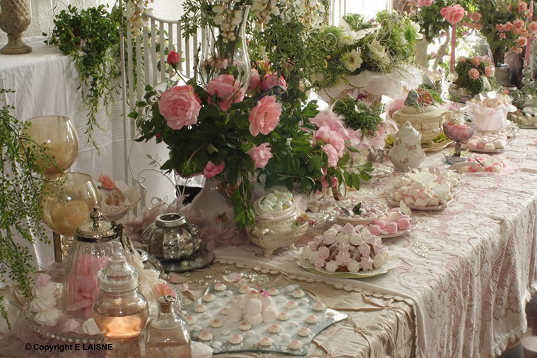 Decoration table fete mariage le mariage - Decoration de table originale ...