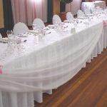 Table des mariés décoration