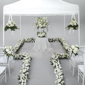 D coration des tables de mariage le mariage for Article decoration mariage