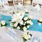 Deco turquoise mariage