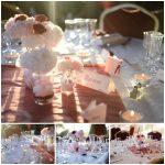 Deco mariage rose