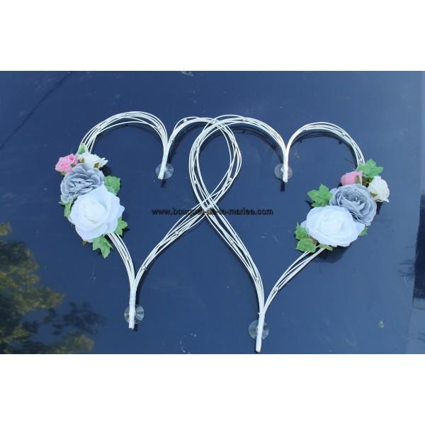Decoration Mariage Voiture Coeur : Coeur deco mariage le