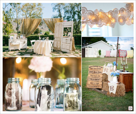 Idee deco mariage vintage le mariage for Idee deco exterieur