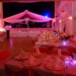 Decoration pour salle de mariage