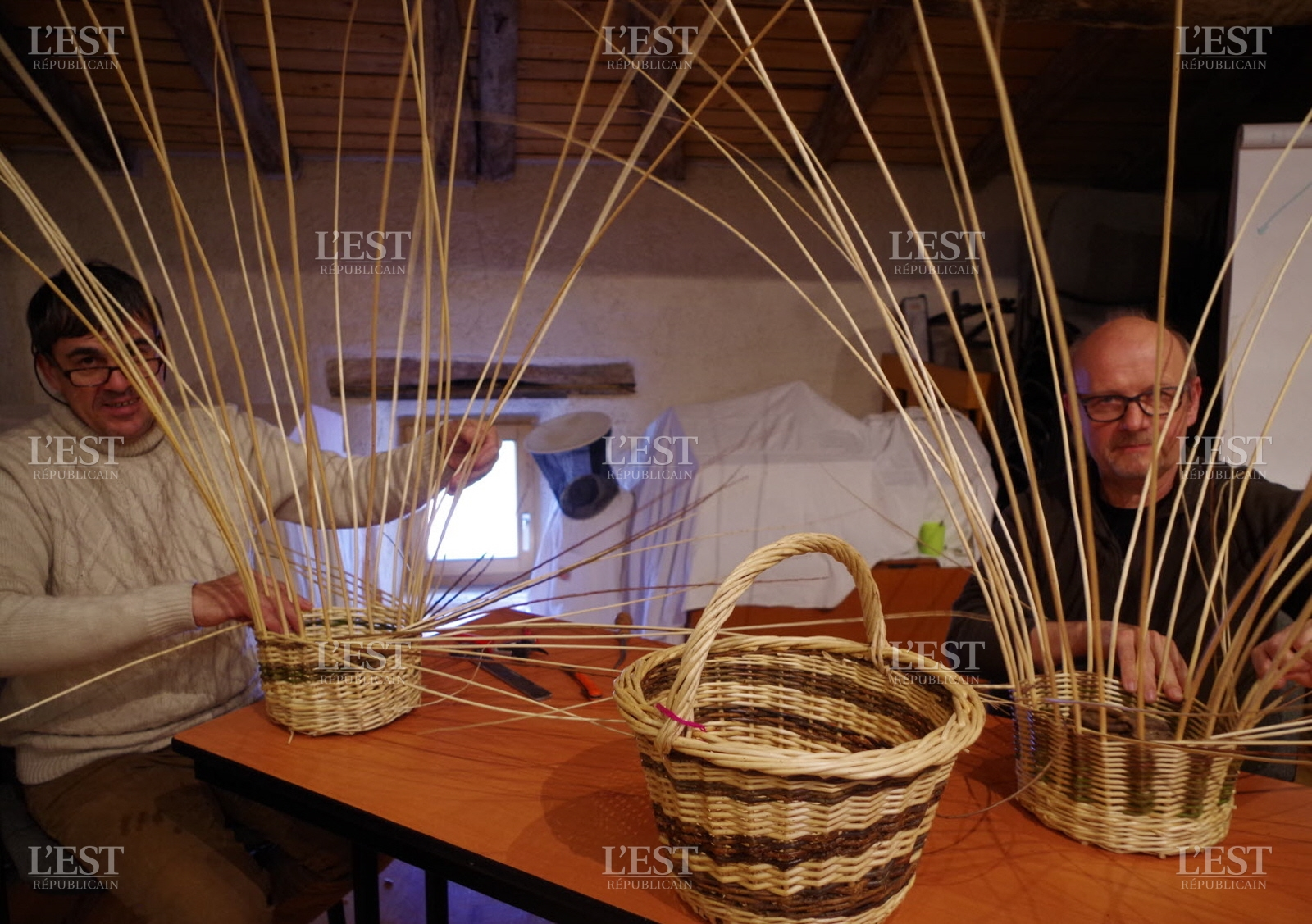 Modele de panier en osier le mariage for Ou trouver des paniers en osier