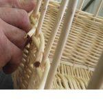 Fabrication panier osier