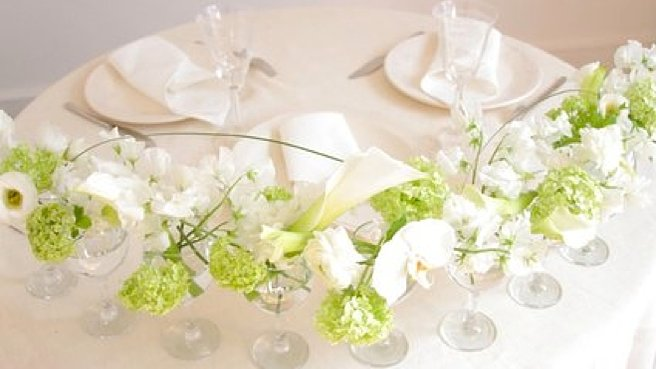 Id e d co table mariage le mariage - Mariage deco pas cher ...