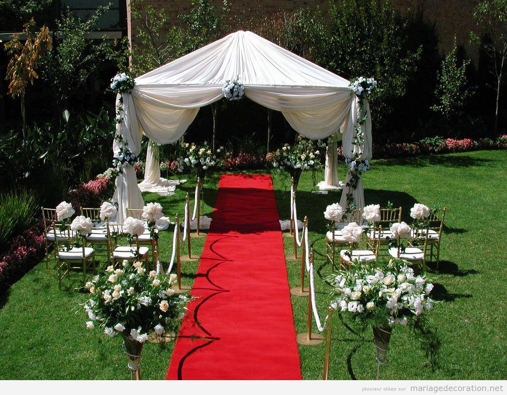 Décoration jardin pour mariage - Le mariage