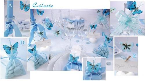 Deco mariage blanc et bleu le mariage - Mariage bleu et blanc ...