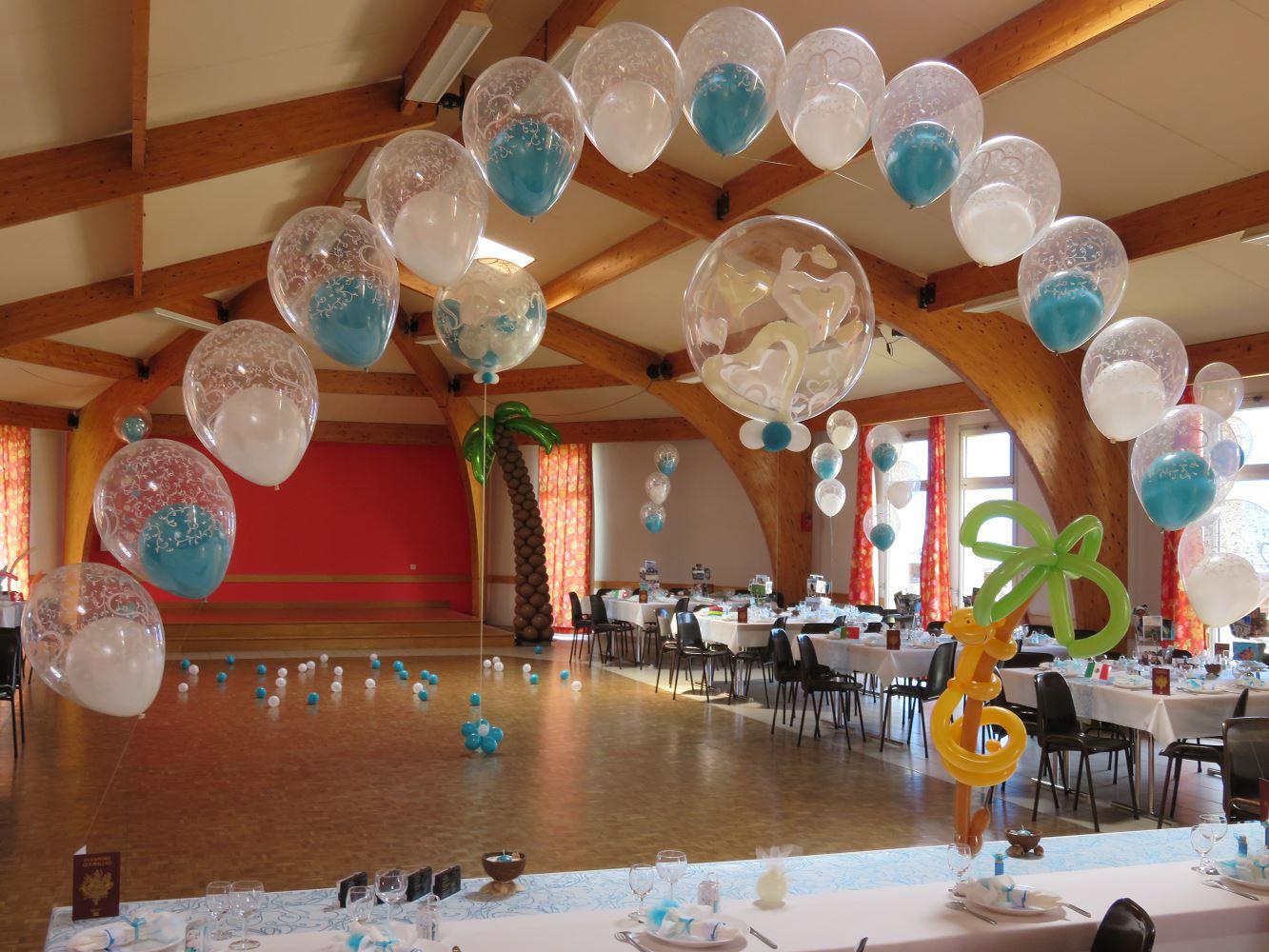 Deco mariage ballon le mariage - Decoration ballon mariage ...