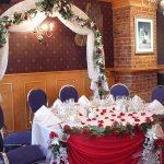 Decoration reception mariage