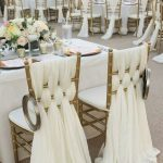 Décoration chaise mariage pas cher
