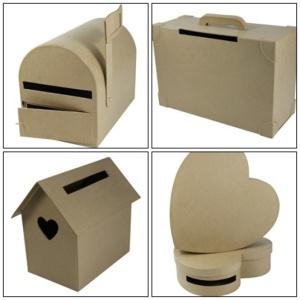 boite urne a decorer le mariage. Black Bedroom Furniture Sets. Home Design Ideas