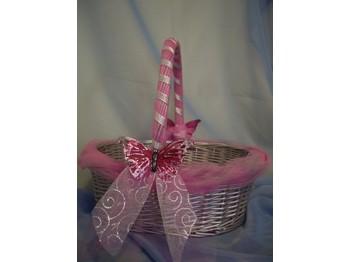 Decoration panier pour mariage le mariage - Decorer un panier en osier ...