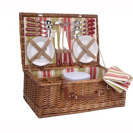 panier picnic osier le mariage. Black Bedroom Furniture Sets. Home Design Ideas
