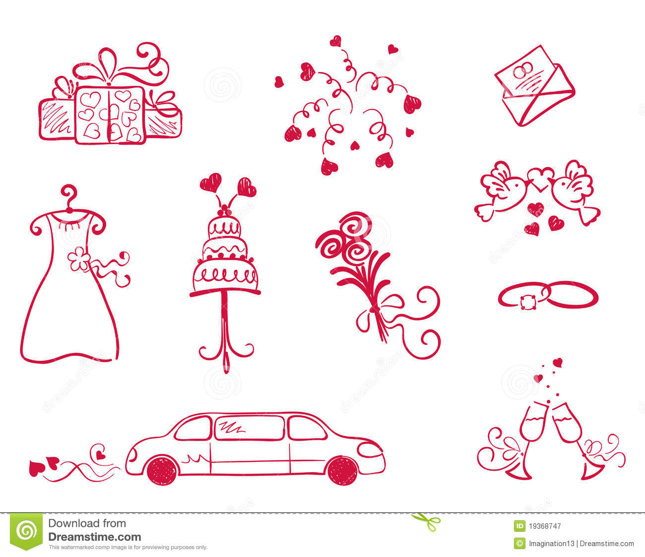 objet mariage le mariage. Black Bedroom Furniture Sets. Home Design Ideas
