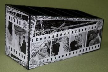 Boite mariage en carton le mariage - Fabriquer une boite a bijoux avec une boite a chaussure ...