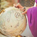 Urne mariage globe