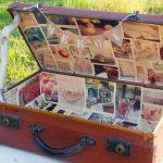 Urne mariage valise